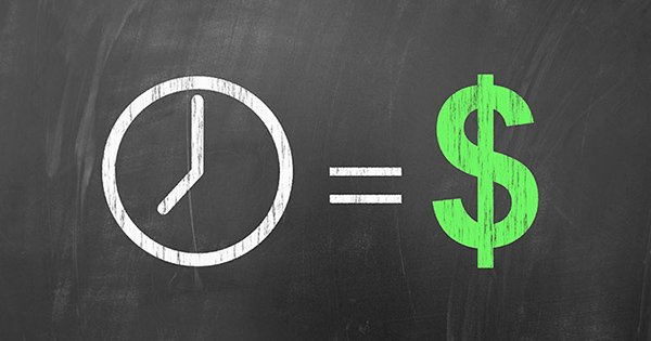 Time is money, american concept